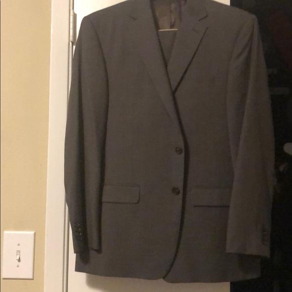 Austin Reed Suits Blazers Austin Reed Brown Plaid Suit 42r34 Pants Poshmark